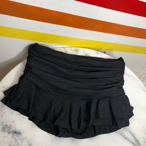 NEW Mermaid ruched skirt bikini bottom